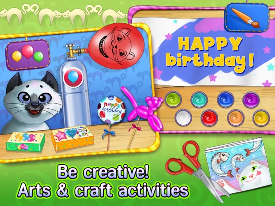 Скачать Kitty Cat Birthday Surprise: Care, Dress Up & Play