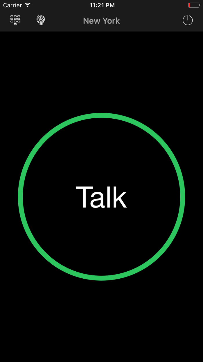 Two Way : Walkie Talkie Screenshot