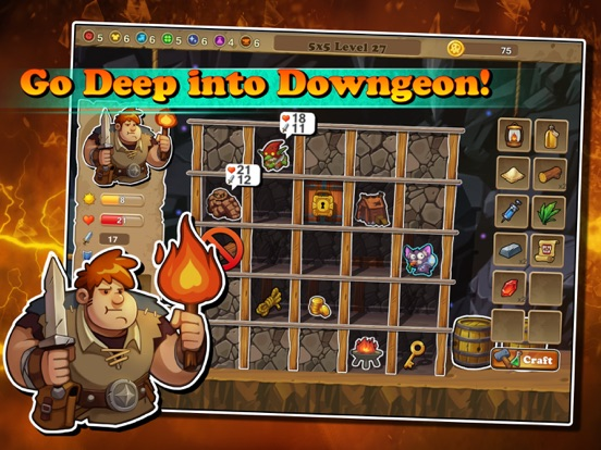 Screenshot #1 for Downgeon Quest