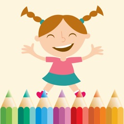 Coloring Pages for Girls, Coloring Book for Kids