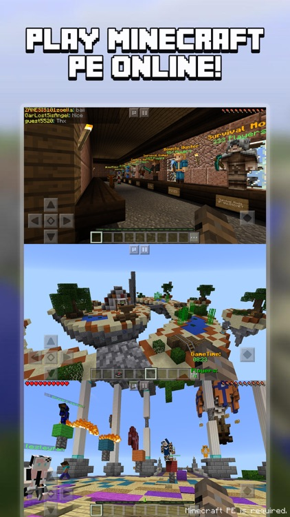 Multiplayer for Minecraft PE (Minecraft Online)