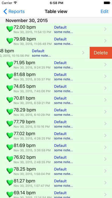 iHeart - Pulse Reader Screenshot 2