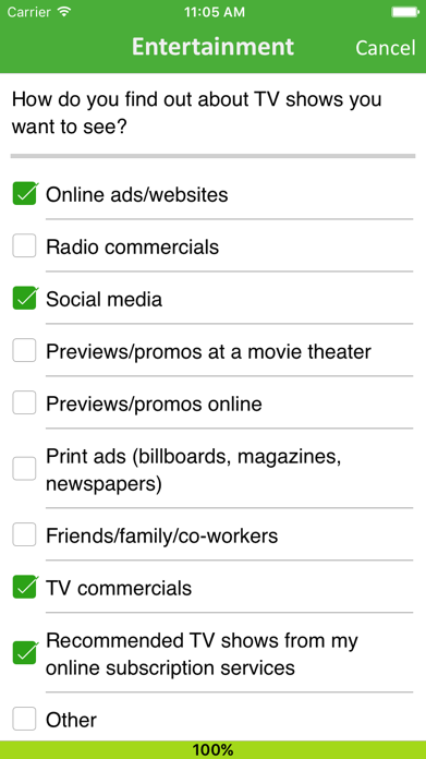 Surveys On The Go Screenshot
