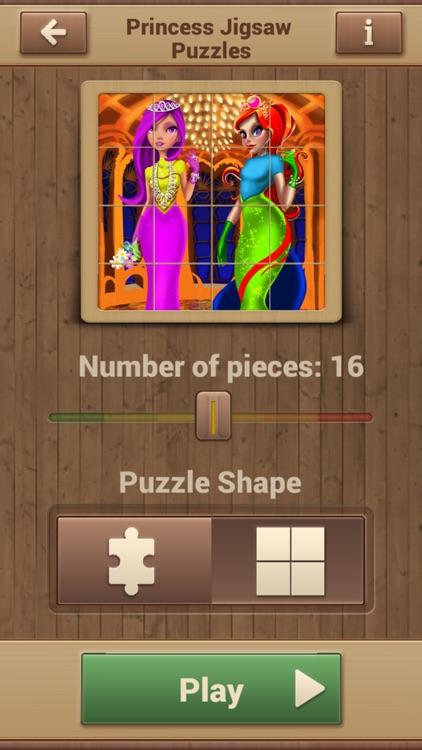 Princess Jigsaw Puzzles