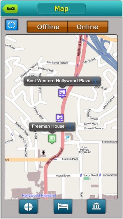 Los Angeles Offline Map Travel Explorer