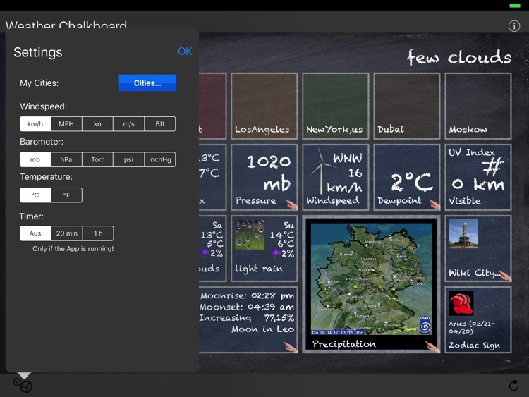 Weather Chalkboard screenshot-4
