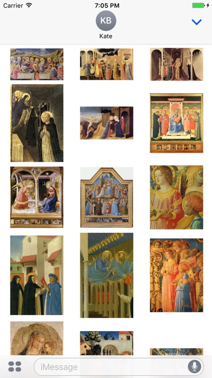 Fra Angelico Artworks Stickers screenshot-3