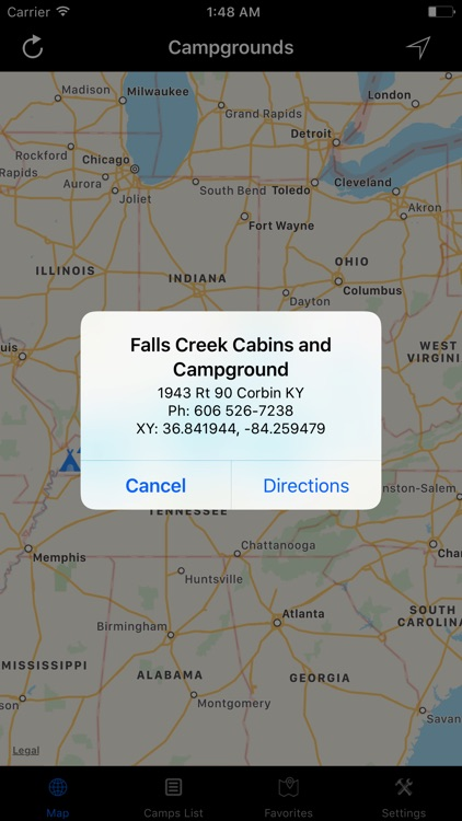 Kentucky – Campgrounds & RV Parks