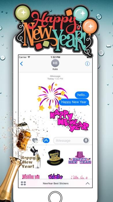 Happy New Year for iMessageScreenshot von 1