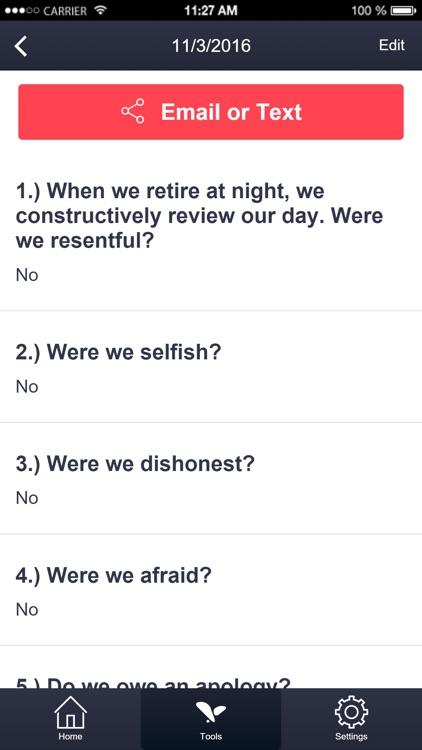 My SAA Toolkit - 12 Steps Sex Addicts Anonymous screenshot-3