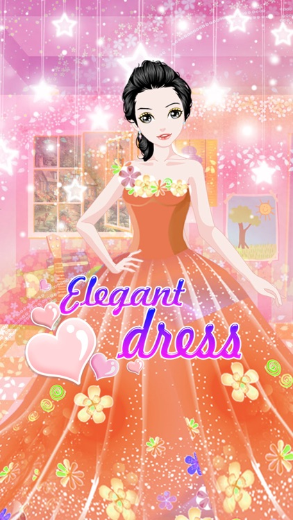 Elegant dress - Fashion Dress up Salon