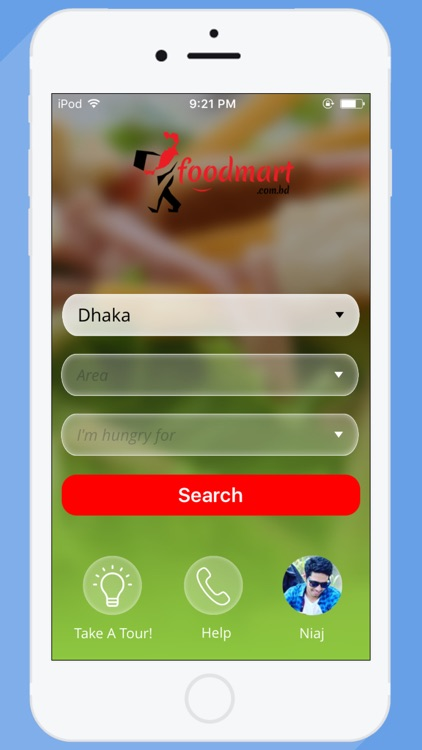 Foodmart- food delivery screenshot-0