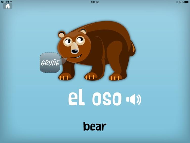Learn Spanish for Kids screenshot-4