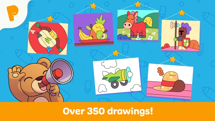 Papumba Kids Coloring World screenshot-3
