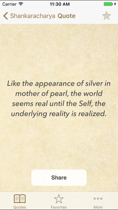 Adi Shankara Quotes of Advaita Screenshot 1