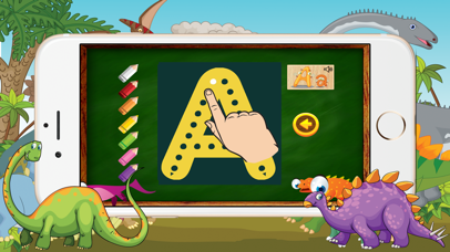 A-Z Dinosaur Alphabet Trace Flashcards for Toddler screenshot two