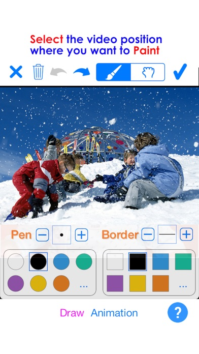 PaintVideo - Animate Paint on Video Screenshot
