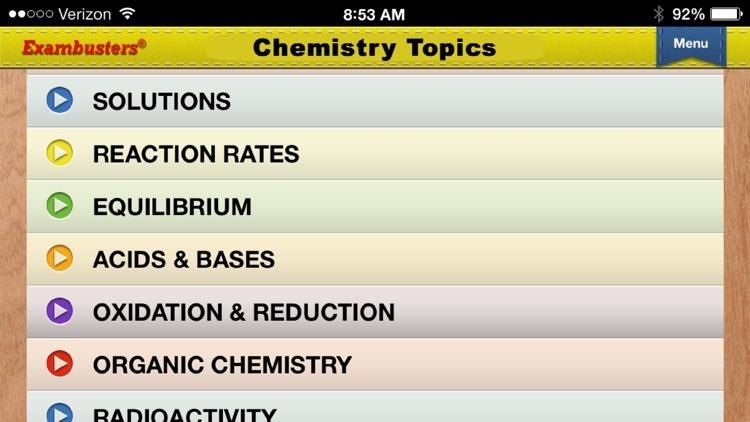 Praxis II Chemistry Prep Flashcards Exambusters
