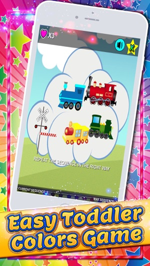 Shapes and Colors for Toddlers Train Games Free on the App Store