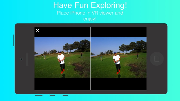 Vidi VR - social virtual reality 3D video sharing screenshot-3