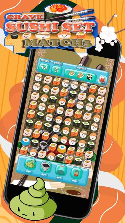 Crave Sushi Set Match 3 screenshot-4