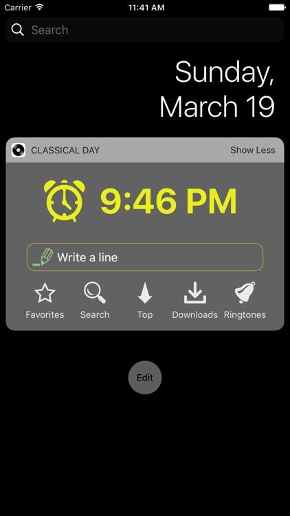 Classical Day - Alarm, Ringtones, Loseless screenshot-3