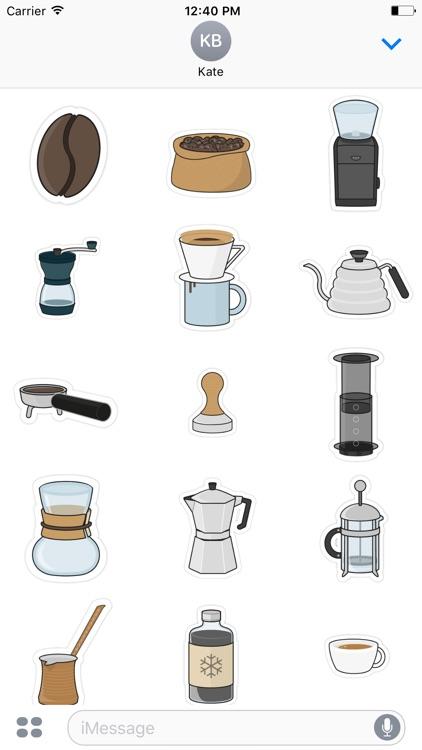 Third Wave Coffee Stickers
