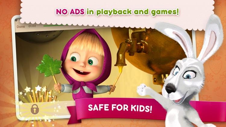 Masha and the Bear see & play screenshot-4