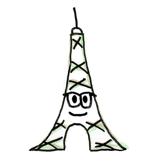 Eiffel-Sticker