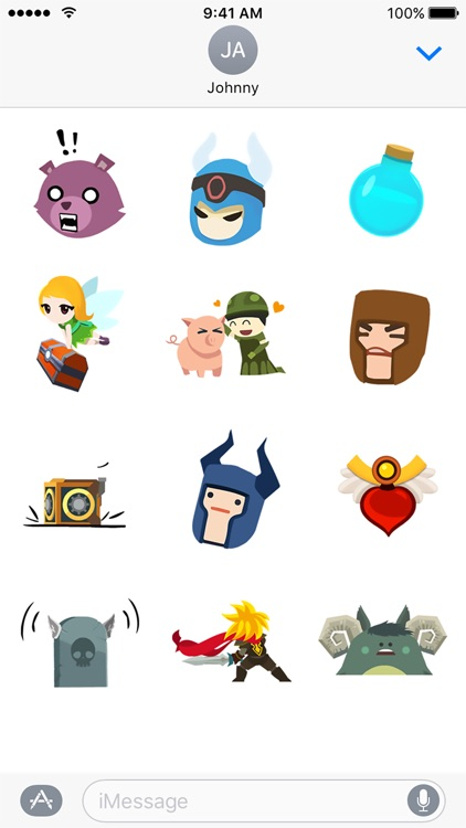 Tap Titans 2 Sticker Pack