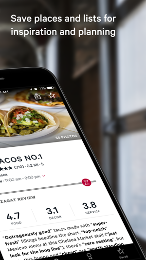 Zagat on the App Store