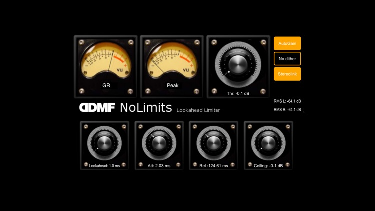 NoLimits Audio Unit Limiter by DDMF