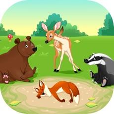 Activities of Wild Animal Quiz Kids Game