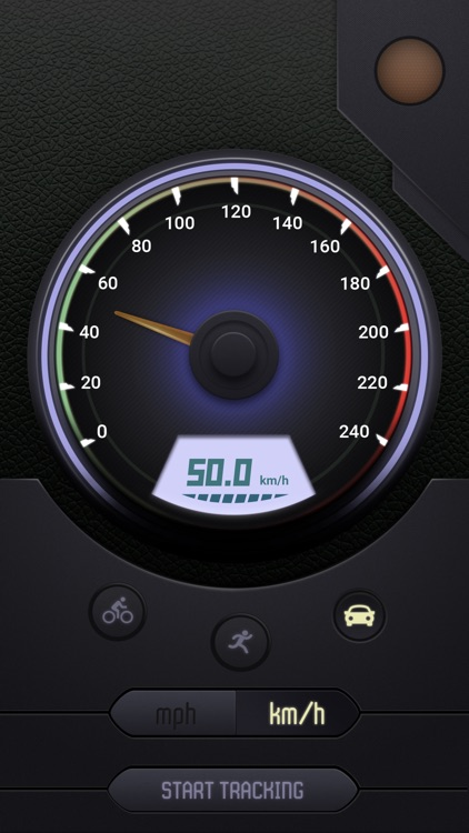 GPS Speedometer Digital and Analog screenshot-3