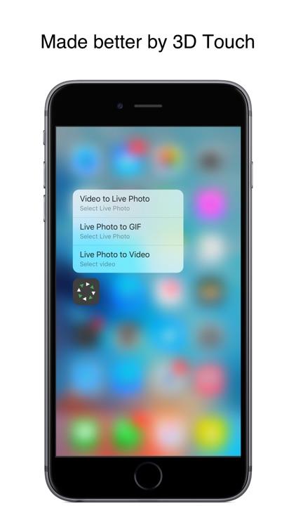 Live Studio - Converter for Live Photos screenshot-3