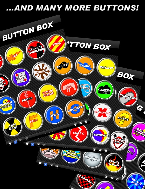 Big Button Box HD - funny sound effects & sounds screenshot-4
