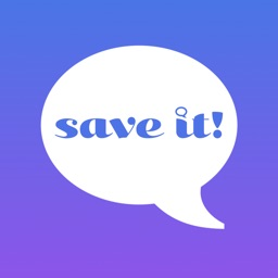 save it! now