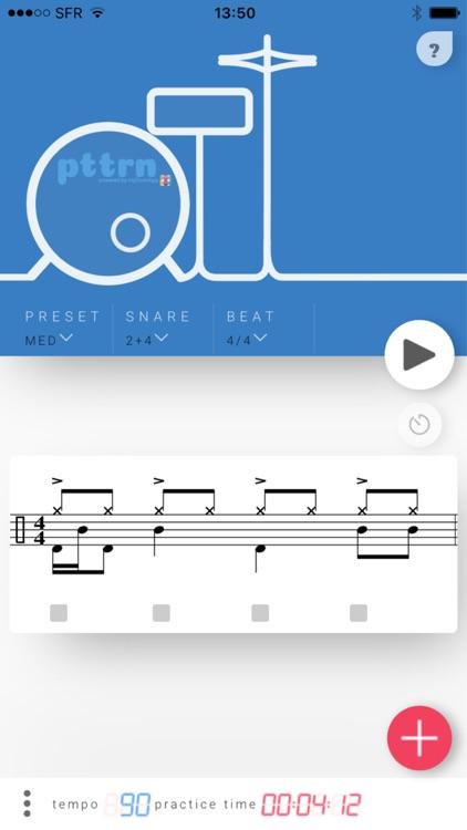 pttrN for drummers screenshot-0