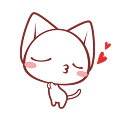 Lovely Cats Stickers icon