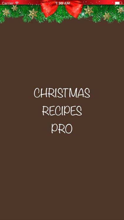 Christmas Recipes Pro screenshot-3
