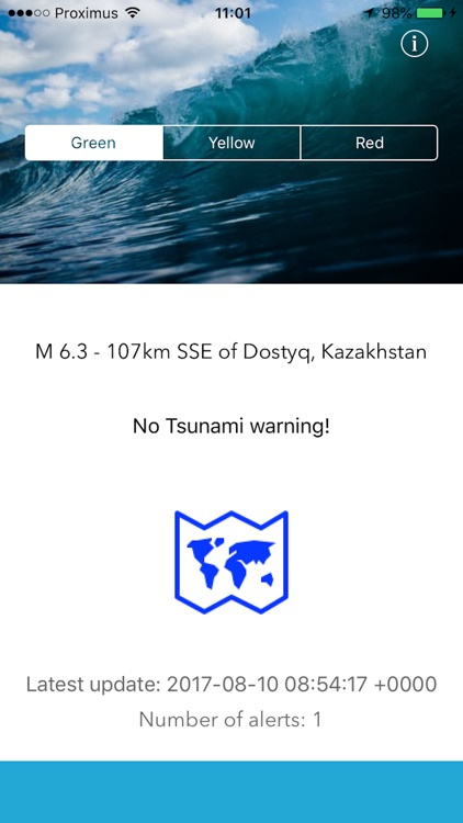 Alert Tsunami screenshot-1