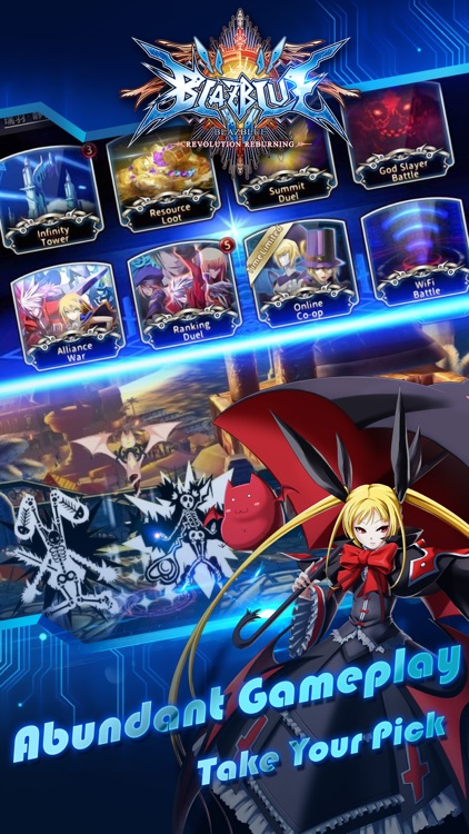 BlazBlue RR - the Real Action Game