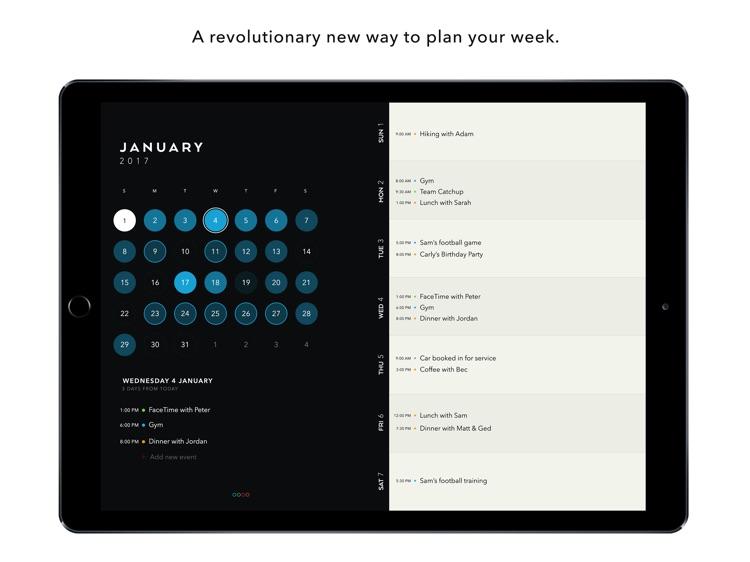 Timepage for iPad – Calendar by Moleskine screenshot-0