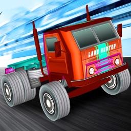 Truck Rally Racing : Monster Truck Racing 4 Kids