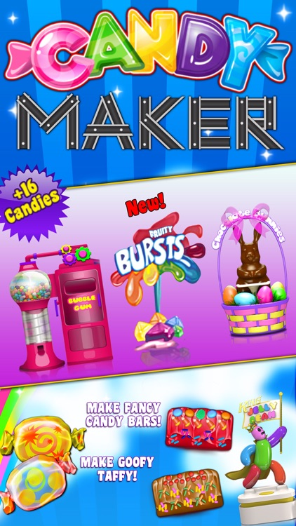 Candy Maker Games - Crazy Chocolate, Gum & Sweets