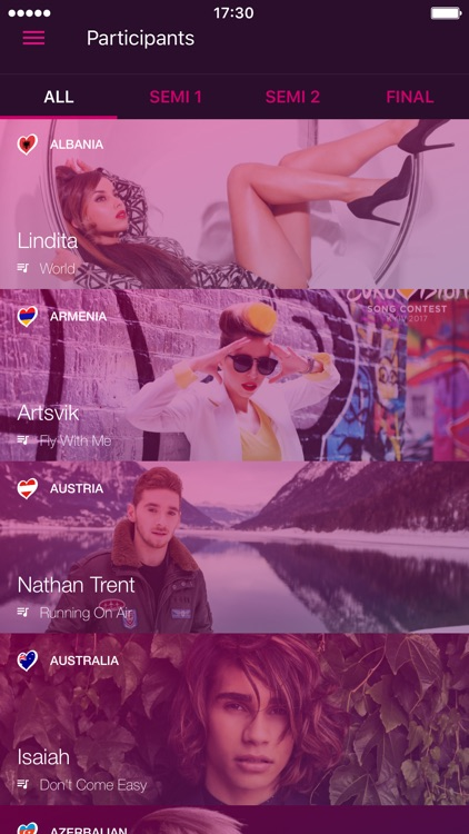 Eurovision Song Contest - The Official App screenshot-3