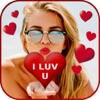 Add Romantic Sticker To Photo - Heart & Love FX Reviews