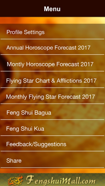 Feng Shui Compass & Horoscope