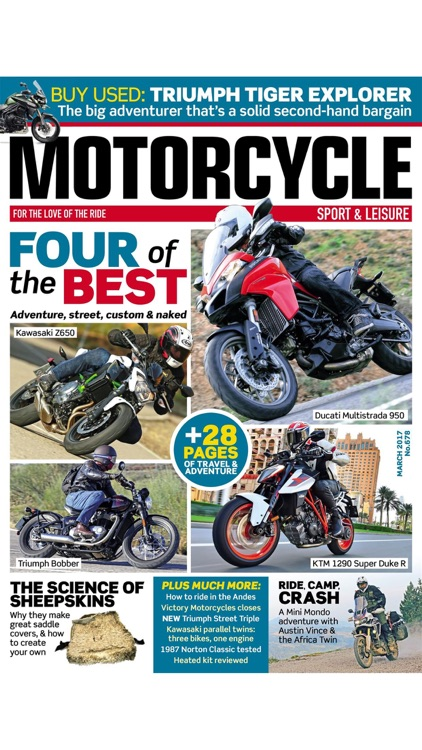 Motorcycle Sport and Leisure - The grown up touring and adventure magazine
