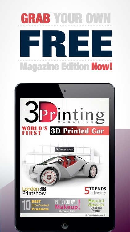3D Printing Magazine screenshot-3